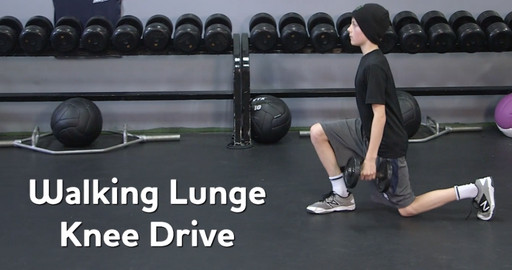 Youth Strength Training – Lunge Progressions