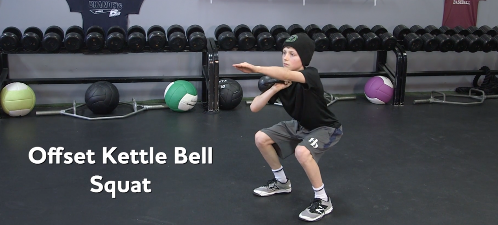 Youth Strength Training: Off-Set Squats